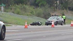 Motorcyclist dies after crash on FM 2222