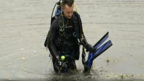 Divers search pond for weapon used in Katie Eager murder