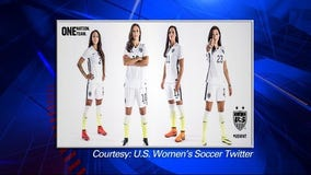 Nike unveils World Cup uniforms for U.S. Women's National Team