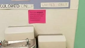 Student-led 'segregated' water fountain experiment at Harmony Science Academy leads to social media fervor