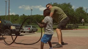 APD reaches out to East Austin community through boxing, exercise