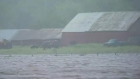 Substantial flooding in Fayette County