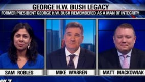 FOX-7 Discussion: George H.W. Bush Legacy