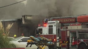 Fire at Northwest Austin strip mall