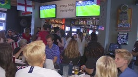 East Austin crowd reacts to Tuesday World Cup win