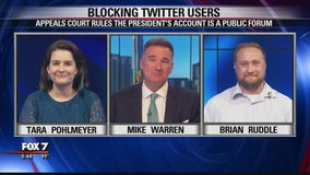 FOX 7 Discussion: Appeals court ruling on Trump's Twitter account