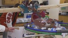 Hutto High School robotics team defends state title in Dallas