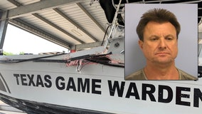 Man arrested for BWI after striking Texas Game Warden boat on Lake Travis