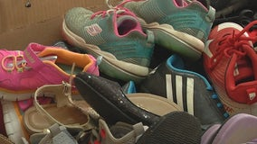 Friends use love of shoes to give back to communities in need