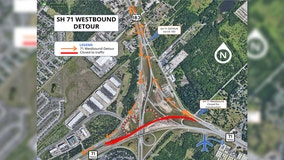 SH 71 road closure this weekend to impact airport traffic
