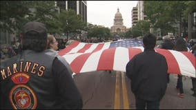 Austin celebrates Veterans Day with parade, ceremonies