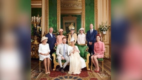 It's a (royal) family affair for Prince Archie's christening