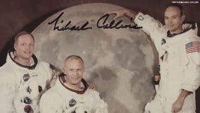 Apollo 11 astronaut reveals unseen photo from moon landing crew he 'found at bottom of a box'