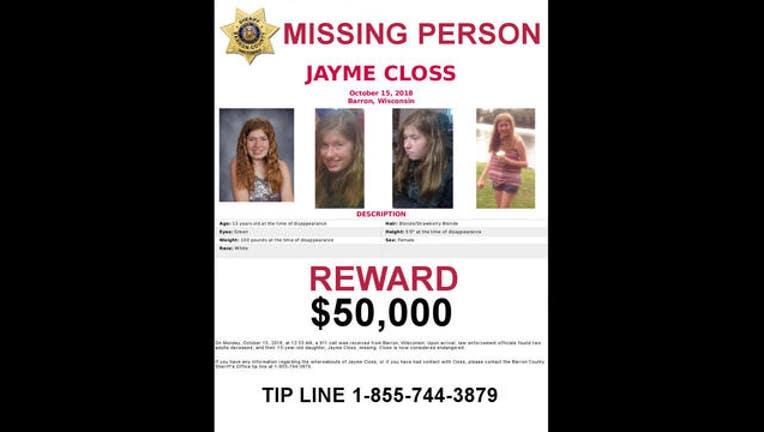 50,000 poster Jayme Closs-409162