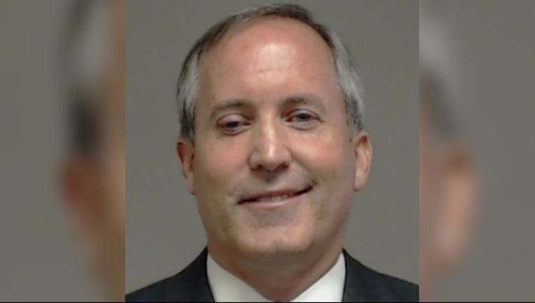 Ken Paxton Booking Photo