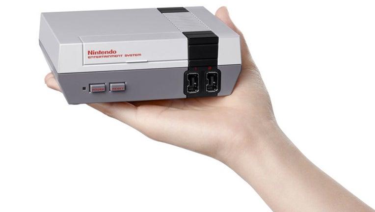 New NES console-401385