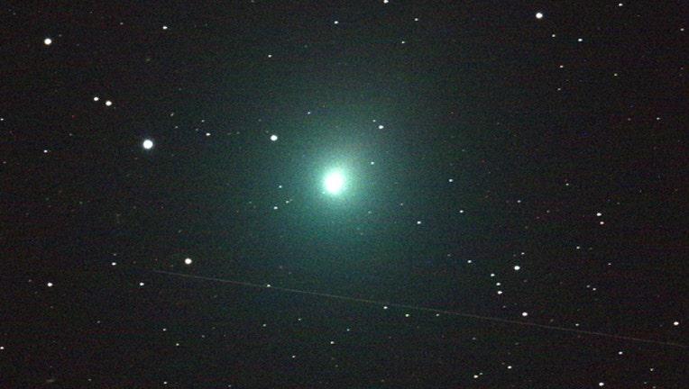 Comet 46P Wirtanen aka the Christmas Comet image courtesy NASA-404023