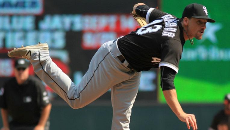 GETTY Danny Farquhar White Sox pitcher-404023