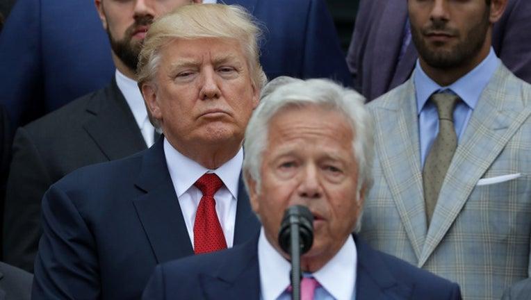 GETTY President Trump NFL-401096