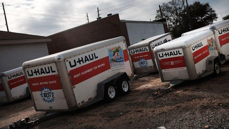 U-Haul trailers (GETTY)-408200