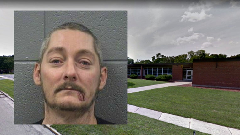 Robinson Elementary and suspect Paul Chapman-404023