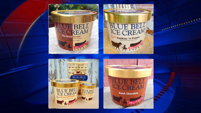 Blue Bell first four flavors-409650