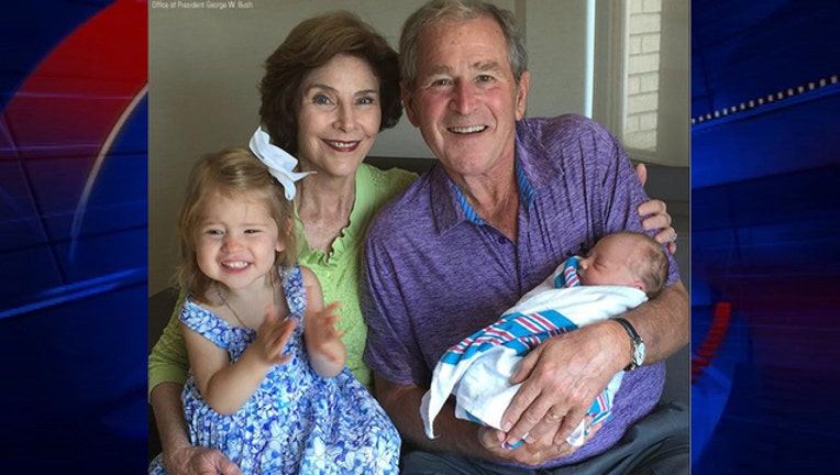 Hager birth George W Bush-409650