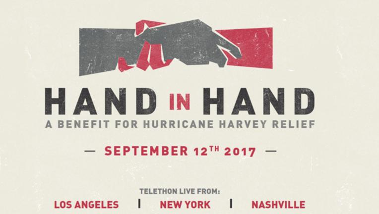 Hand in Hand telethon website screenshot-408795