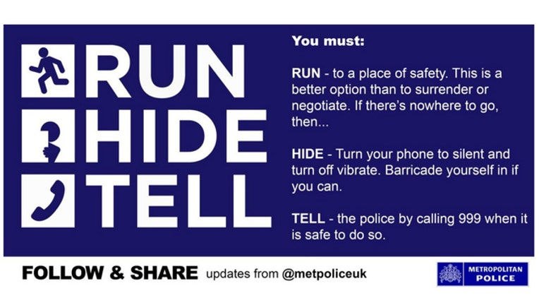 London Police say that lives were saved when people followed these instructions during the terror attacks-404023