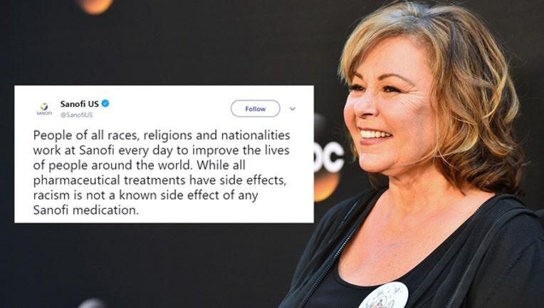 Roseanne Barr Sanofi Tweet (GETTY IMAGES-401720