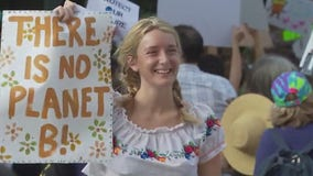 Thousands of students, activists march in Texas for climate change