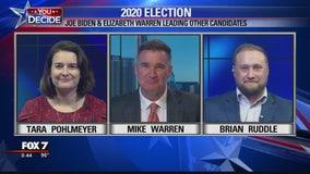 FOX 7 Discussion: Biden, Warren lead in new polls