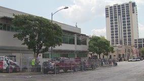 ARCH sidewalk improvements underway