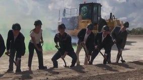 Pyrotechnics, shovels and McConaughey at Austin FC stadium groundbreaking
