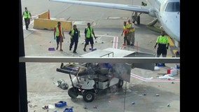 Viral Video: Beverage cart goes crazy at O'Hare Airport