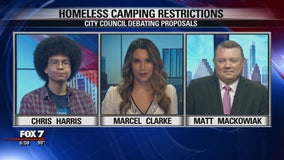 FOX 7 Discussion: Homeless camping restrictions