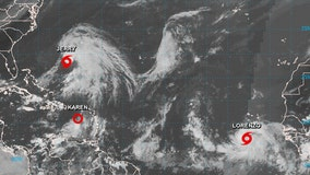 Jerry, Karen and Lorenzo: 3 tropical systems are churning in the Atlantic
