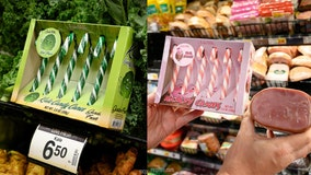 Forget lumps of coal: Kale candy canes, 'clamdy' canes and 'hamdy' canes are here to ruin Christmas