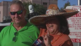 Fans get ready for LSU/UT football game