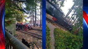 Six Flags train derails, causes passenger evacuation