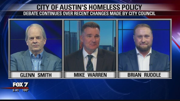 FOX 7 Discussion: Austin homeless policy