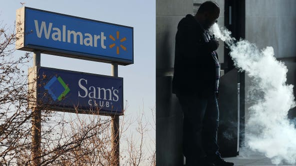 Walmart to stop selling e-cigarettes amid vaping-related illnesses and deaths