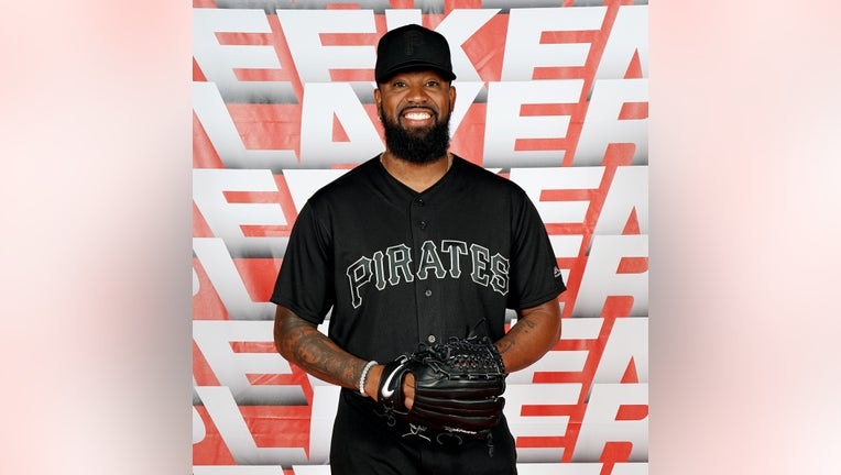 PITTSBURGH, PA - AUGUST 23: Felipe Vázquez #73 of the Pittsburgh Pirates poses for a photo prior to the game between the Cincinnati Reds and the Pittsburgh Pirates at PNC Park on Friday, August 23, 2019 in Pittsburgh, Pennsylvania. (Photo by Dave Arrigo/MLB Photos via Getty Images)