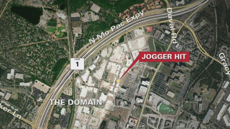 Jogger hit by car then inappropriately touched in North Austin