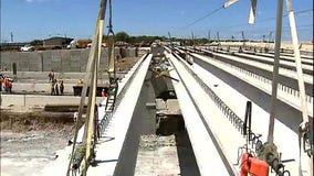 Texas DMV: Motor carrier that struck bridge didn't have permit to carry over-height load
