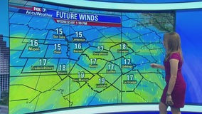 Noon weather forecast for October 16