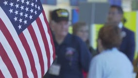 A trip of a lifetime: World War II, Korea and Vietnam veterans take to the skies for Honor Flight Austin