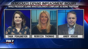 FOX 7 Discussion: Democrats expand impeachment inquiry
