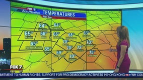 Morning weather forecast for October 16