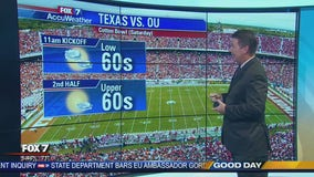 Morning weather forecast for October 9